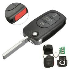 Remote Flip Key Fob Keyless Entry Remote Control Uncut For Audi 4D0837231E US