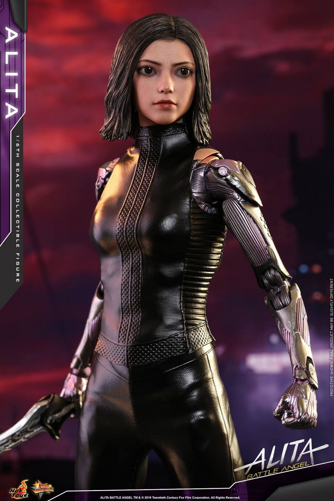 Hot Toys Alita Battle Angel 1 6th scale Alita Collectible Figure MMS520
