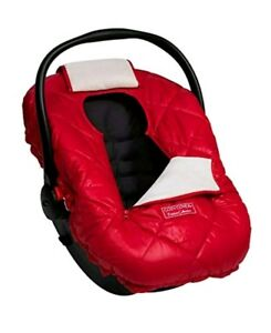 Details About Infant Car Seat Cover Polar Fleece Outer Shell Carrier Baby Warm Cozy Travel Red