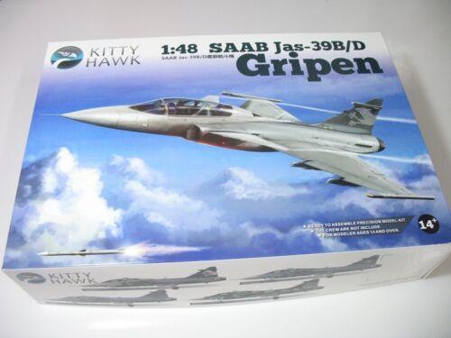 Kitty Hawk 1//48 80118 JAS-39B//D Gripen