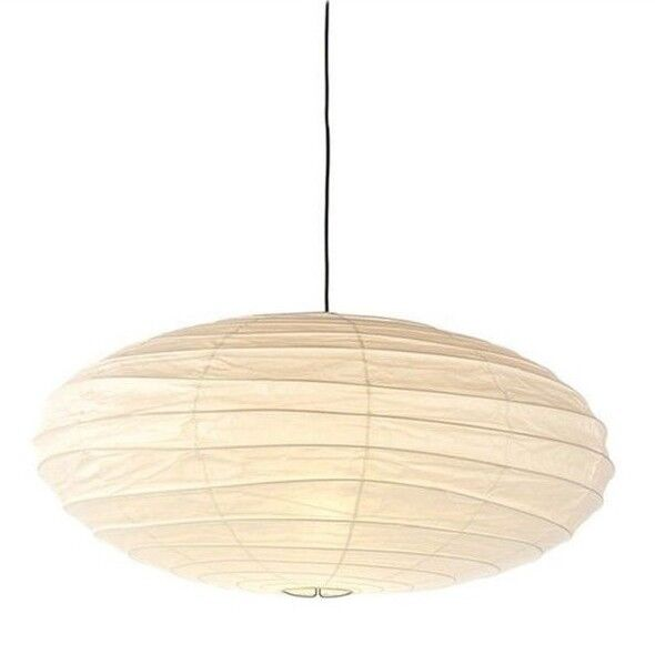 Isamu Noguchi Akari 70en Plain Pendant Lamp Anese Paper Lighting Shade Ebay