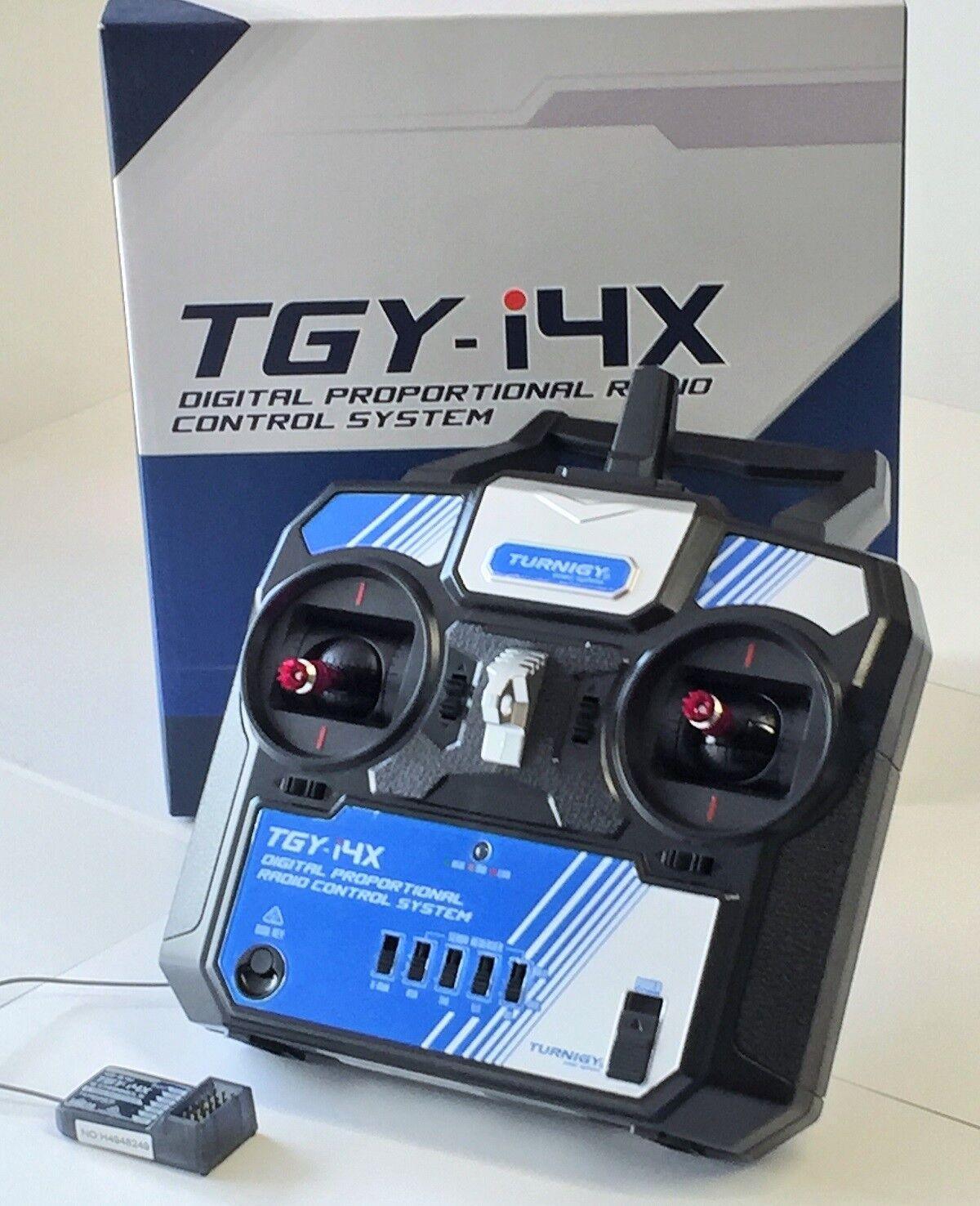 Turnigy TGY-i4X 4 CHANNEL TRANSMITTER 2.4Ghz IDEA FOR MODEL BOAT, CAR OR PLANE