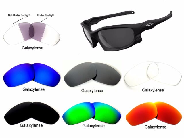 9b445b3e64 Galaxy Replacement Lens For Oakley Split Jacket Sunglasses 7 Color Special  Offer