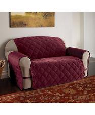 Burgundy Microfiber Ultimate  Furniture Protector Loveseat NIP