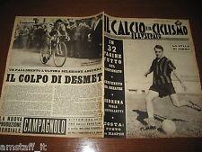 IL CALCIO E CICLISMO ILLUSTRATO 1961/34=GREAVES=GUIDA CAMPIONATO SERIE A FOTO=
