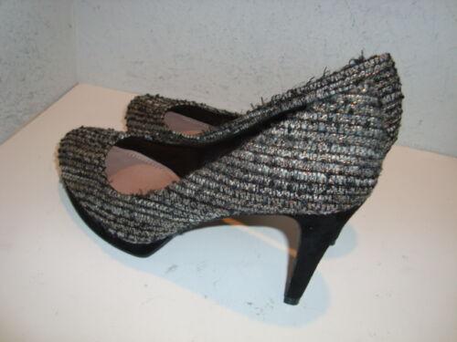 Zella Moyen Chaussures Camuto Vince Tissu 7 Nwob Nouveau Multicolore Talons À pxC66zw