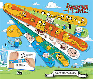 Adventure Time Slap Snap Bracelets