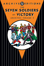 Archives: Seven Soldiers of Victory Vol. 3 by Joe Samachson (2008, Hardcover)