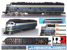 RIVAROSSI-ATLAS 2102 VINTAGE LOCOMOTORE DIESEL E8 BALTIMORE & OHIO BOX SCALA-N
