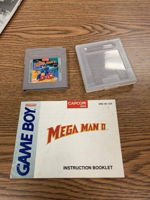 Mega Man II Megaman 2 Nintendo Game Boy & Manual/case  Original OEM Authentic
