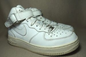 Force Top 5 White Nike Air Mid '82 Hi Junior Trainers Leather Uk 1 rdxeWCBo