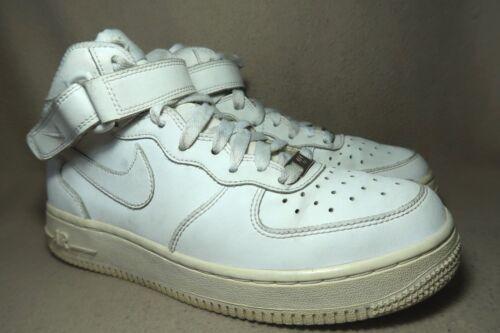 da ginnastica 1 38 Junior alta pelle 5 Air Nike in Scarpe Eu Uk Mid Force '82 bianco d5wXTdq