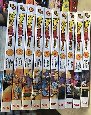 Dragon Ball Super Complete Manga Series Latest Volume 1 10 New English Viz 10 Ebay