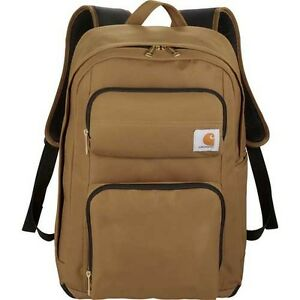 "Carhartt Signature Standard Work 15"" Laptop / MacBook Waterproof Backpack - New"