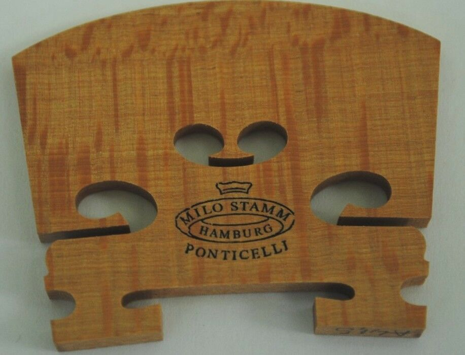 Milo Stamm Ponticelli Violin 4 4 Bridge - Royal - A Shape 40 mm