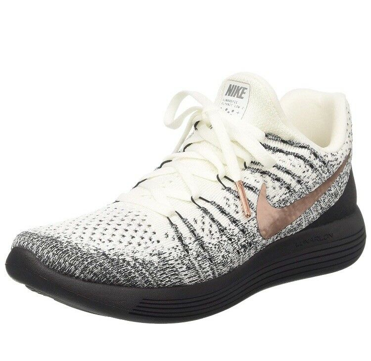 GREAT CONDITION  SOLD OUT NIKE LUNAREPIC LOW FLYKNIT 2 w  Metallic Men's 12