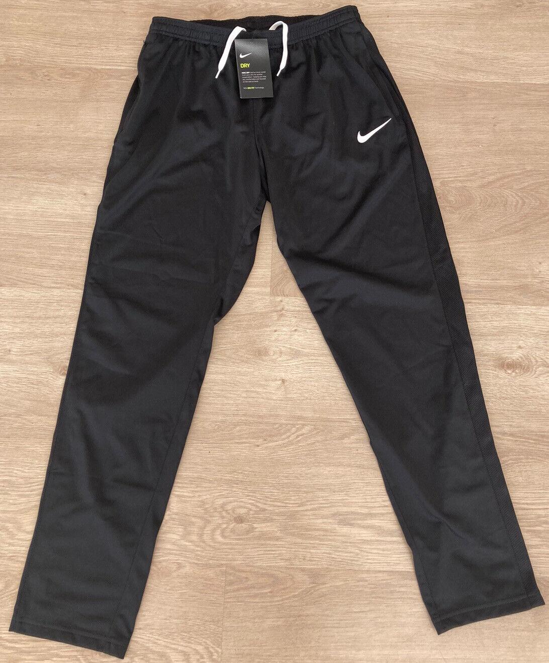 Ladies Nike Dri-Fit Tracksuit Bottoms Pants. Size M. Logo. Zip Pockets. BNWT