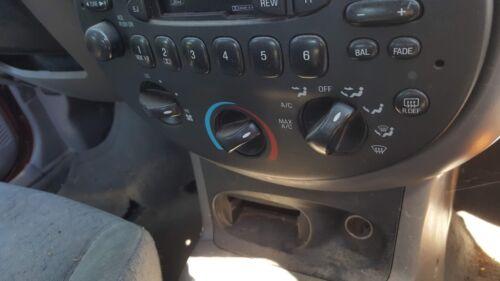 1 1997 Ford Escort AC Heater Fan Climate Control Panel Knob Single OEM