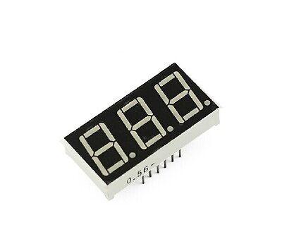 5PCS 0.56 inch 3 digit Red Led display 7 segment Common cathode new Z3
