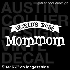 "6.5/"" RUGBY MOM vinyl decal car truck window laptop sticker gift"