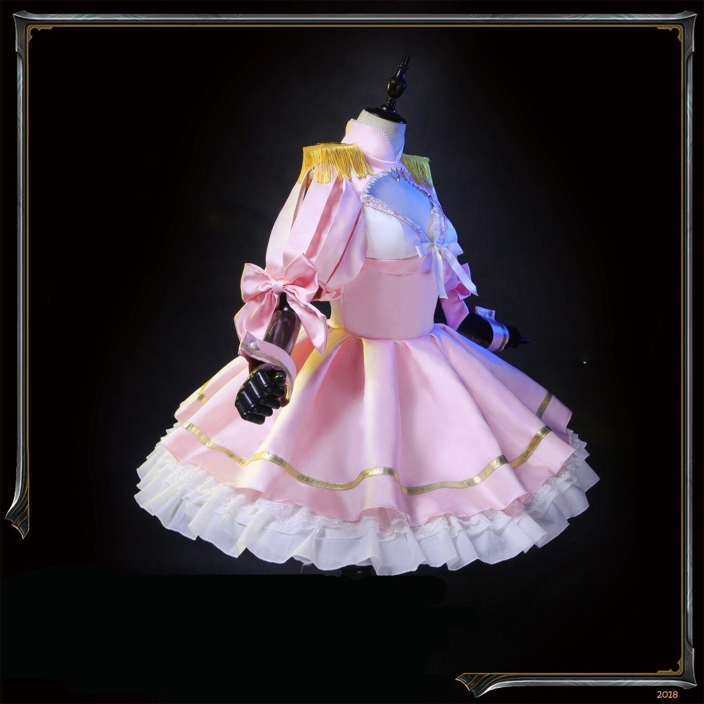 As Miss Beelzebub Likes Beruzebubu-jo no Okinimesu Mama Cosplay Princess Dress