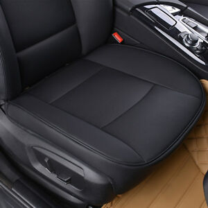 PU-Black-Full-Surround-Leather-Car-Front-Seat-Cover-Breathable-Chair-Cushion-A