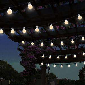 10 Led String Lights Bulbs Globe Warm
