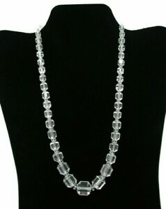 Vintage-Chinese-Silver-Art-Deco-Crystal-Necklace