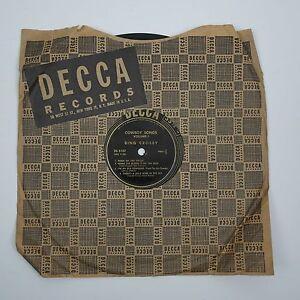 1940-039-s-Bing-Crosby-Cowboy-Songs-Vintage-78-Record-Decca-DL-5107