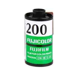 FUJICOLOR Fujifilm Fuji C200 36 POSE 35MM Rullino Pellicola Nuovi