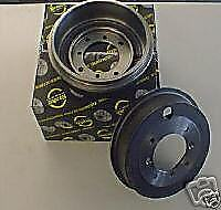 ROVER MG ZR 220 25 214 416 420 200 400 BRAKE DRUMS REAR PAIR NEW