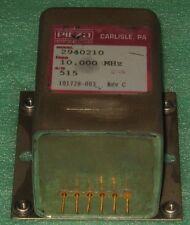 High Precision 10MHZ OCXO frequency standard by PIEZO SC-CUT square wave +24V