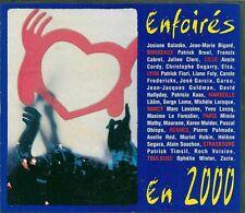 CD COMPIL 18 TITRES--LES ENFOIRES--ENFOIRES EN 2000...