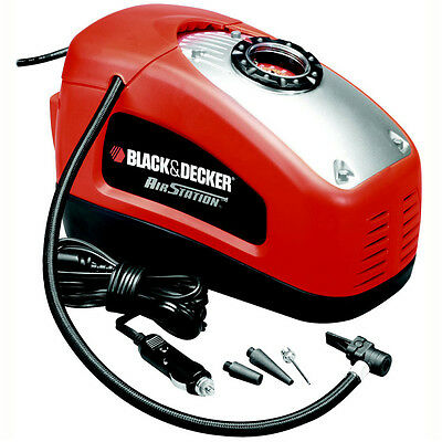 Black & Decker Compressore portatile Air Station 11 bar auto moto bici ASI300