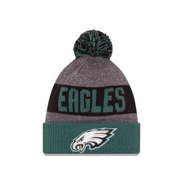 2016 NFL Philadelphia Eagles Era Sideline on Field Knit Beanie Hat ... 67fcde8da