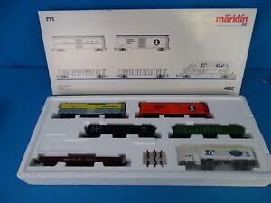 Marklin-4862-USA-Car-Set-034-USA-Freight-Car-Set-1-034-NEW