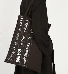 aacdcf7d3bf Image is loading Y-3-Yohji-Yamamoto-adidas-Canvas-Tote-Bag-