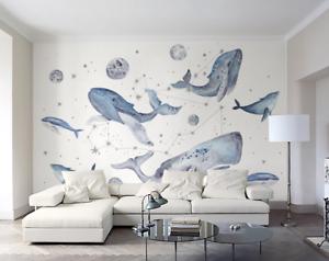 3D Alte Meerestiere 753 Tapete Wandgemälde Tapete Tapeten Bild Familie DE Summer