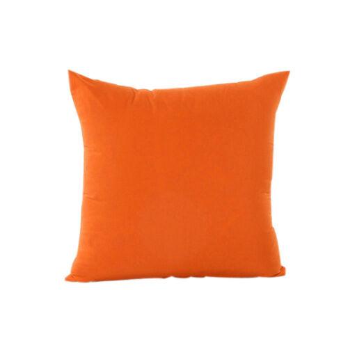Solid Color Taie d/'oreiller simple housse de coussin canapé Taille Moderne Doux Home Decor