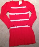 Nwts 3t Gymboree Ribbon Pleated Sweater Dress Mod About Orange