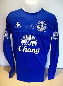 premium selection 47fda 59a23 Details about Phil Neville Signed Everton Game Worn/Issued Shirt Season  2005/06 AFTAL/UACC RD