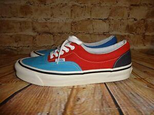 Détails sur VANS Chaussure De Skate 50th Anniversaire Bleu Rouge Jaune 8.5 Chaussures RARE! afficher le titre d'origine