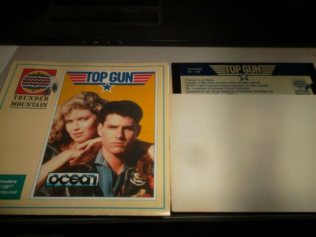 Top Gun by Thunder Mountain/Ocean Software for C64 (Commodore 64/128, 1987)