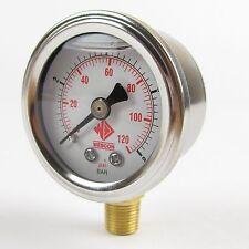 High Quality fuel pressure gauge 1-8 bar for EFI beware of cheap copies!