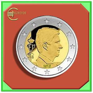 2-Euro-Kursmuenze-Coin-Coins-Belgien-2015-aus-KMS-034-Waterloo-034-BU