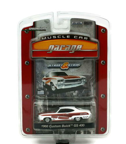 1968 Custom Buick GS 400 GREENLIGHT MUSCLE CAR GARAGE Diecast 1:64 FREE SHIPPING