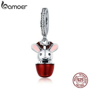 Bamoer-European-925-Sterling-Silver-cute-elk-charm-Enamel-Fit-Bracelet-Jewelry
