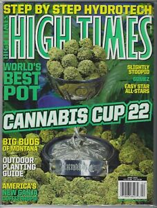 Details about HIGH TIMES MAGAZINE APRIL 2010 STEP BY STEP HYDROTECH  CANNABIS CUP 22 BEST POT!