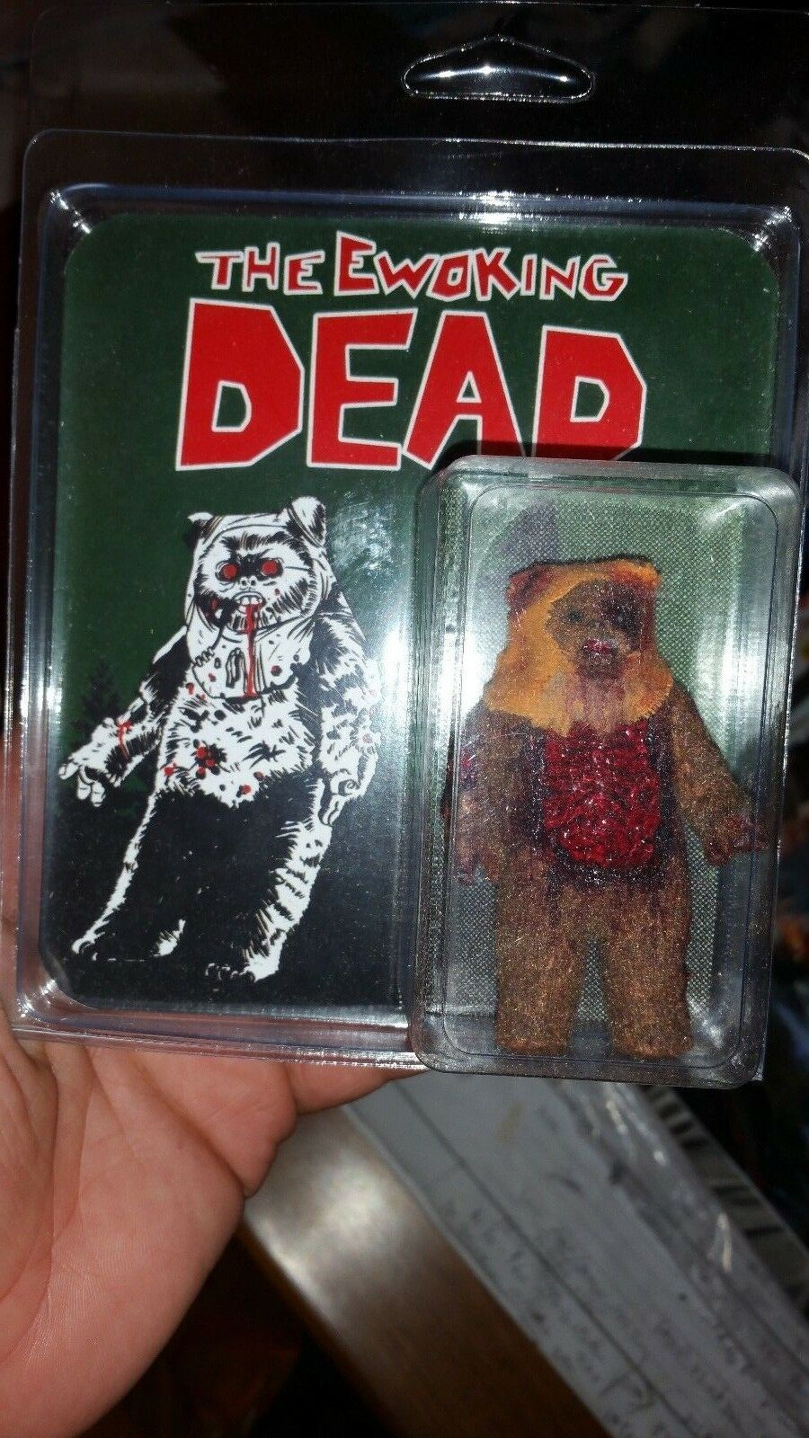 KILLER BOOTLEGS DCON EXCL THE EWOKING DEAD VINTAGE STYLE FIGURE FIGURE FIGURE  ONLY 50 MADE  155ca2