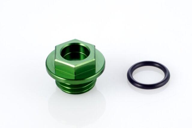 New Alloy Oil Fill Plug Cap fit Kawasaki KX KDX KLX 125 200 250 300 500 Z1-Green